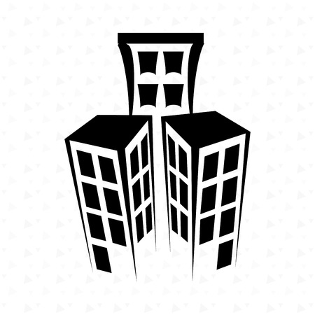 residential icon design, vector illustration eps10 graphic
