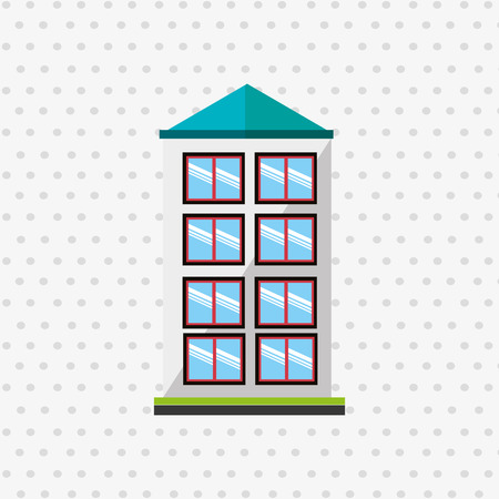 residential: residential icon design, vector illustration eps10 graphic Illustration