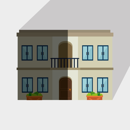 grass isolated: residential icon design, vector illustration eps10 graphic Illustration