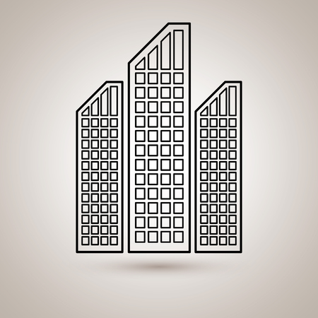 residential: residential icon design, vector illustration eps10 graphic Stock Photo