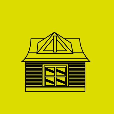 residential: residential icon design, vector illustration eps10 graphic Illustration
