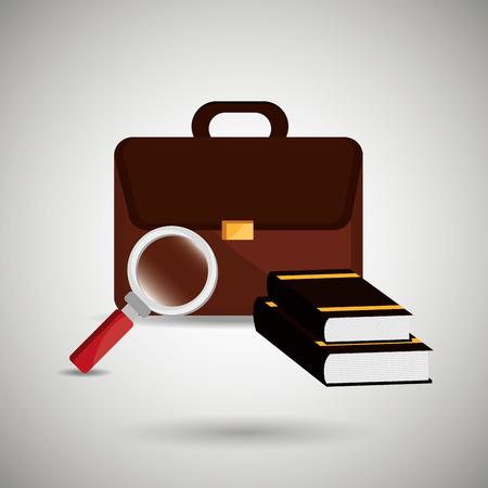 judgement day: law concept design, vector illustration eps10 graphic