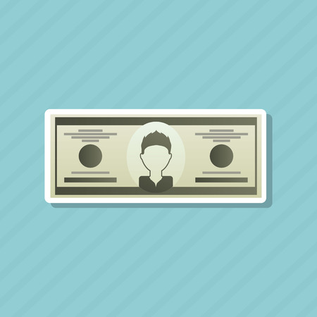 background isolated: money concept design, vector illustration eps10 graphic