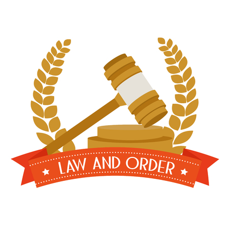 law and order: law and order design, vector illustration eps10 graphic