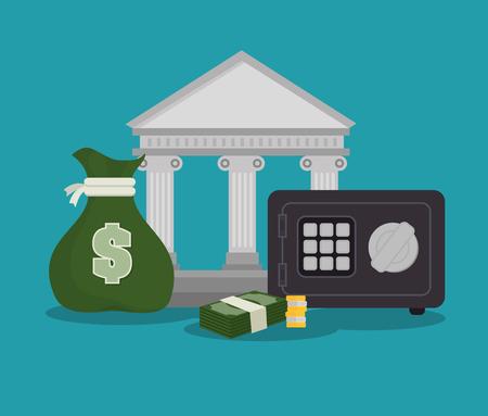 hard court: money concept design, vector illustration eps10 graphic