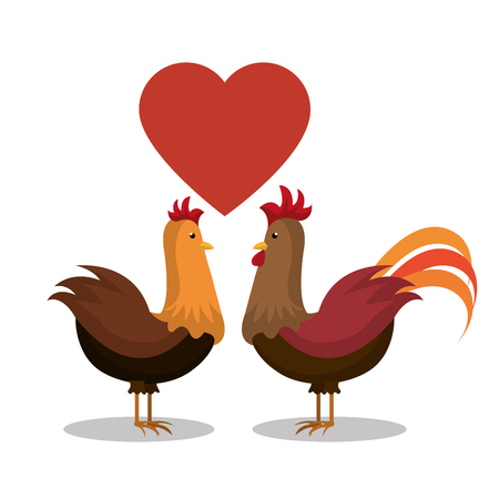 grown with love: farm fresh design, vector illustration eps10 graphic Illustration