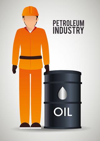 petroleum: petroleum industry design, vector illustration eps10 graphic