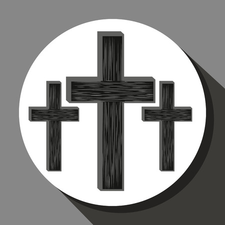 catholicism: Catolic religion design, vector illustration eps10 graphic