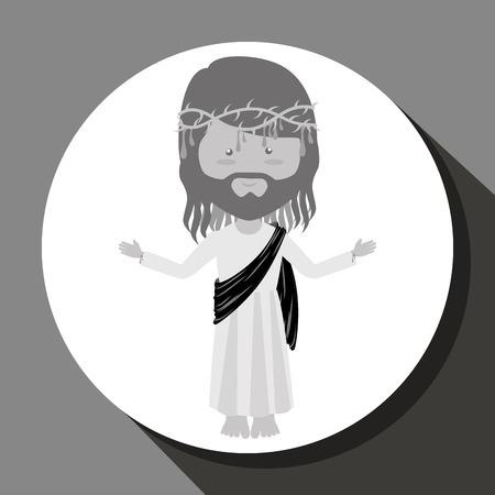 easter background: Catolic religion design, vector illustration eps10 graphic