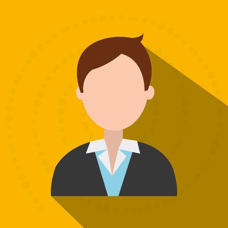 default: person avatar design, vector illustration graphic