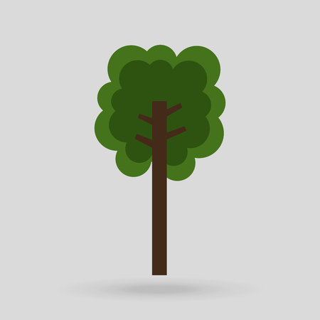 tree isolated: tree isolated design, vector illustration eps10 graphic