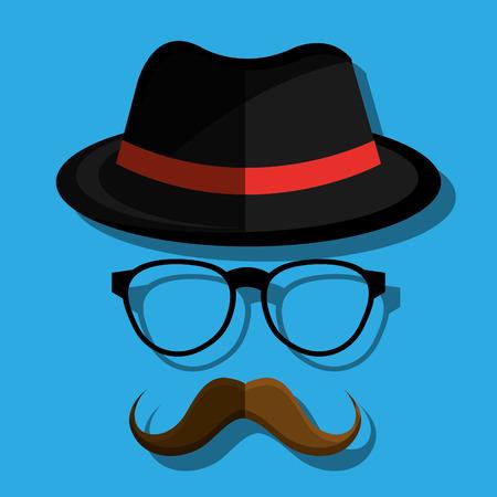 mister: hipster style design, vector illustration eps10 graphic