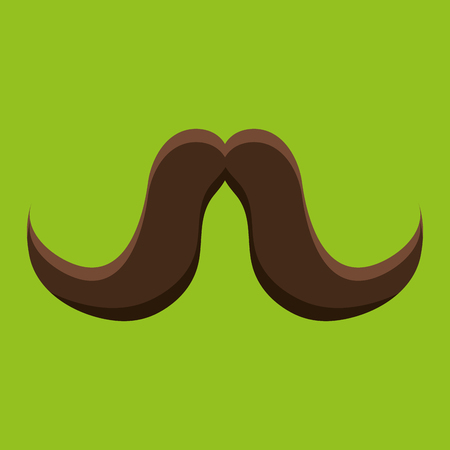 fake mask: mustache icon design, vector illustration eps10 graphic