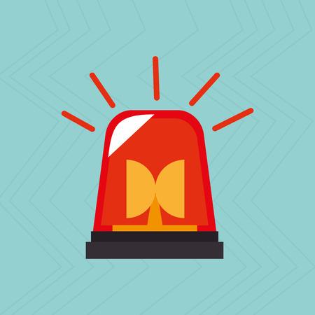 la conception de l'icône d'urgence, illustration graphique eps10