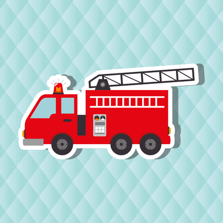 responders: emergency icon design, vector illustration eps10 graphic Illustration