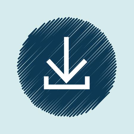 designator: arrows icon  design, vector illustration eps10 graphic