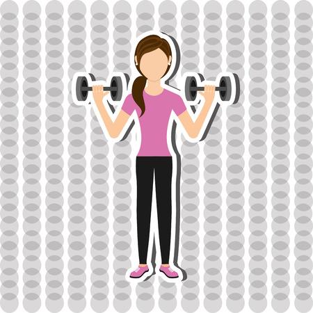 trainer device: gym sport icon design, vector illustration eps10 graphic