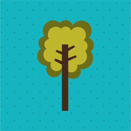 forest conservation: eco friendly design, vector illustration eps10 graphic Illustration