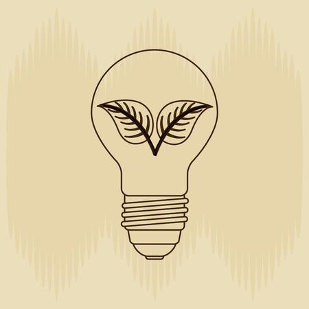 leafs: renewable energy design, vector illustration eps10 graphic