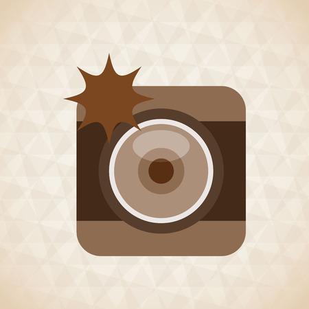 artistic photography: camera icon design, vector illustration eps10 graphic