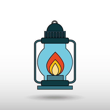 ligh: field day icon design Illustration