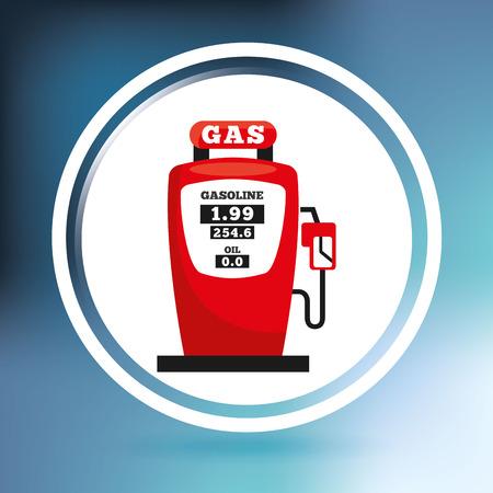 oil industry design, vector illustration eps10 graphic Vector Illustration