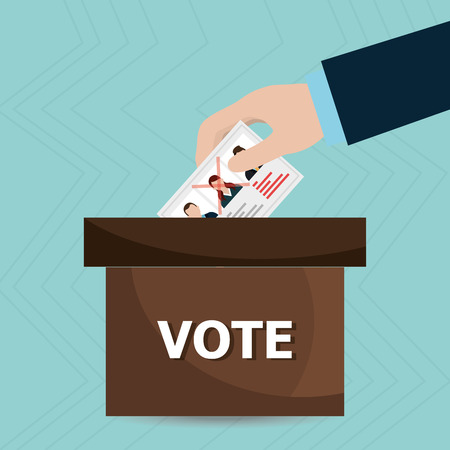 polling: elections icon design, vector illustration eps10 graphic