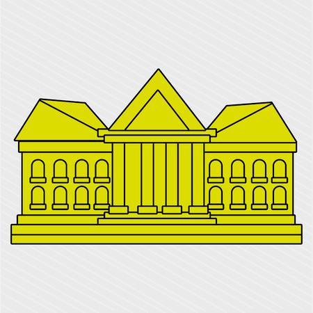élections icône du design, illustration graphique eps10