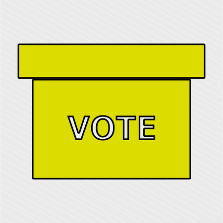 voter: elections icon design, vector illustration eps10 graphic