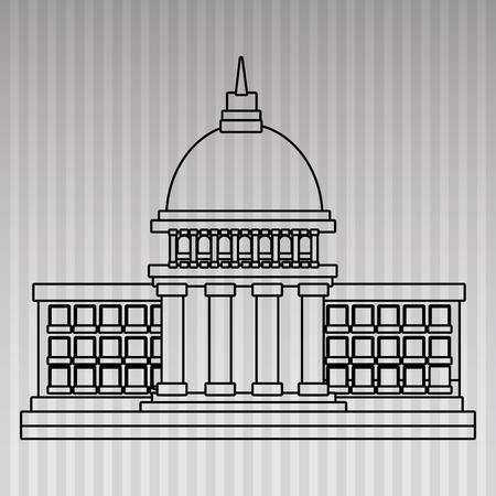 elections concept design, vector illustration eps10 graphic Illustration