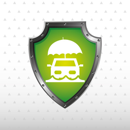 best protection: insurance concept design, vector illustration eps10 graphic