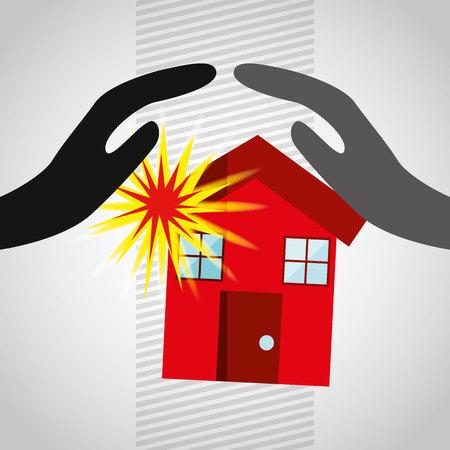 best security: insurance concept design, vector illustration eps10 graphic