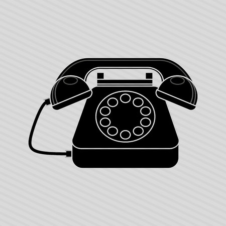 telephonic: telephonic service design, vector illustration eps10 graphic Illustration