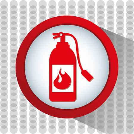 first job: emergency service design, vector illustration eps10 graphic Illustration