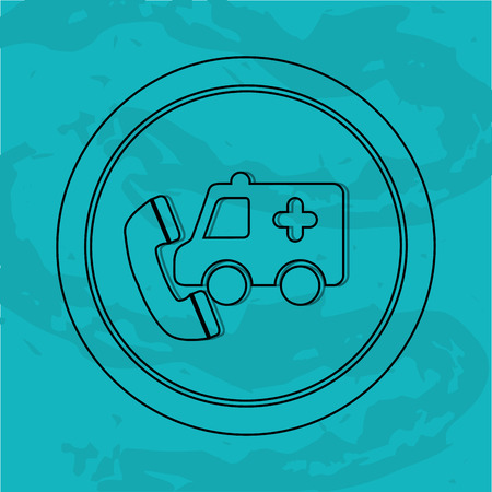 car care center: emergency service design, vector illustration eps10 graphic Illustration