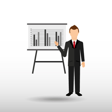 company board: business people design, vector illustration eps10 graphic Illustration