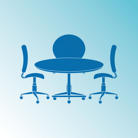 round table: round table design, vector illustration eps10 graphic