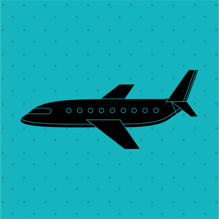 commercial airline: airport terminal design, vector illustration eps10 graphic