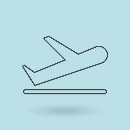 arrive: airport terminal design, vector illustration eps10 graphic
