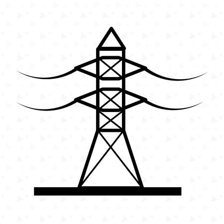 electrics: energy industry design, vector illustration eps10 graphic Illustration