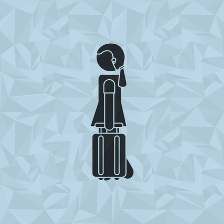 migrating: travel and people design, vector illustration eps10 graphic