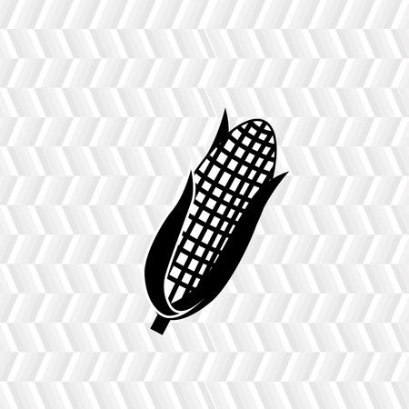 sweetcorn: corn icon design, vector illustration eps10 graphic