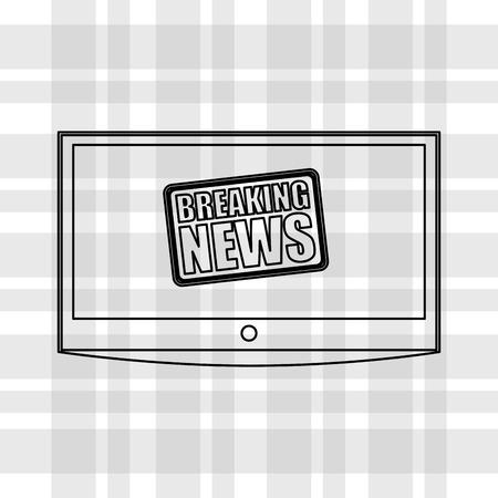 breaking: breaking news design, vector illustration eps10 graphic