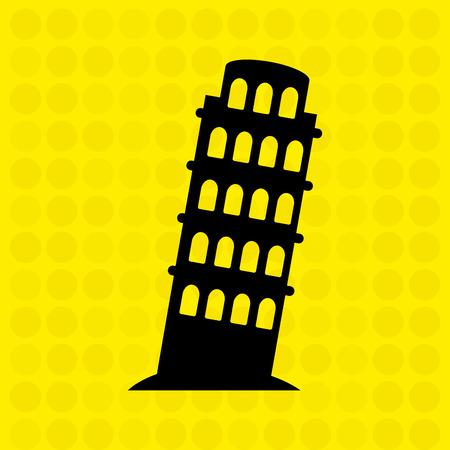 monument: world monument design, vector illustration eps10 graphic