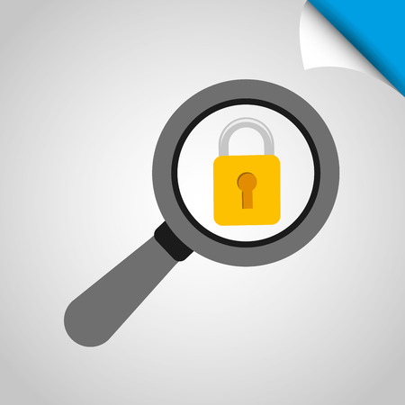 encryption icon: security system  design, vector illustration eps10 graphic