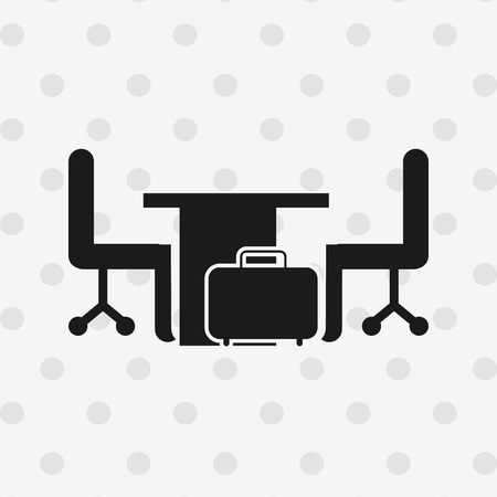 work place: work place design, vector illustration eps10 graphic