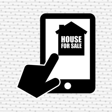 rent index: real estate design, vector illustration eps10 graphic Illustration