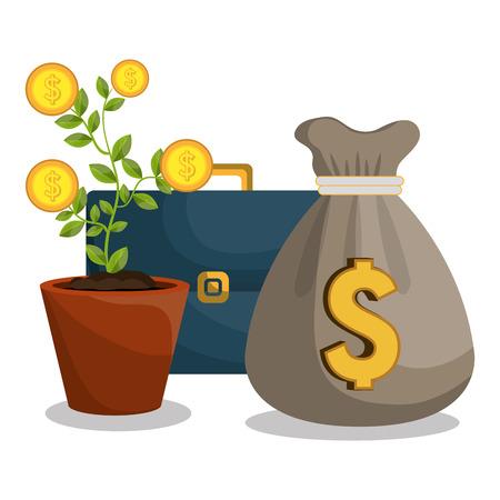 economic: economic growth design, vector illustration eps10 graphic