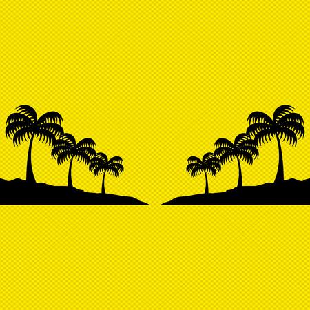 playas tropicales: playa icono del diseño, ilustración vectorial gráfico eps10