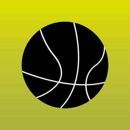 balon baloncesto: sport concept icon design, vector illustration eps10 graphic